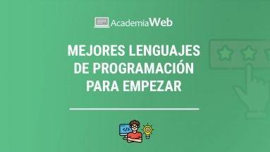 Mejores lenguajes de programación para empezar